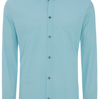 Fashion 4 Men - Belmont Slim Stretch Print Shirt