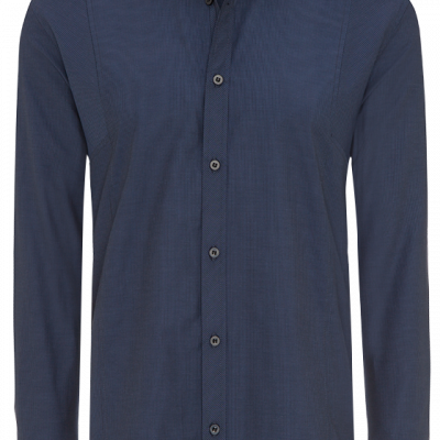 Fashion 4 Men - Blake Self-Stripe Shirt