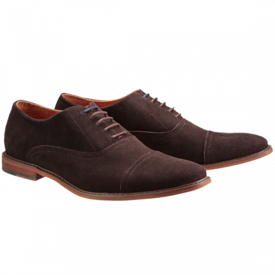 Fashion 4 Men - Conway Suede Lace Up