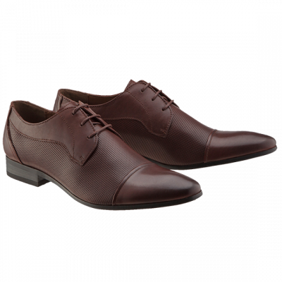 Fashion 4 Men - Drummond Perforated Lace Up Shoe