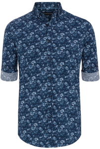 Fashion 4 Men - Henry Print Shirt