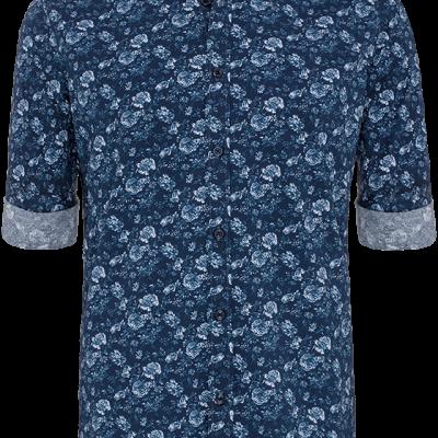 Fashion 4 Men - Henry Print Shirt