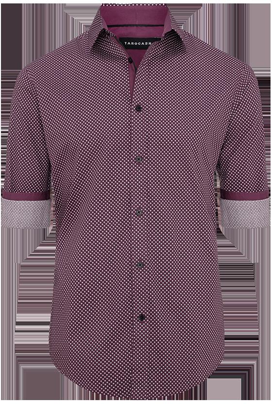 Fashion 4 Men - Rod Small Geo Print Shirt