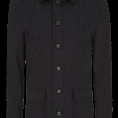Fashion 4 Men - Saxton Melton Jacket