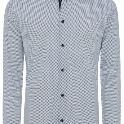 Fashion 4 Men - Trueman Slim Stretch Print Shirt