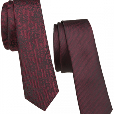 Fashion 4 Men - 2 Pack 5Cm Tie