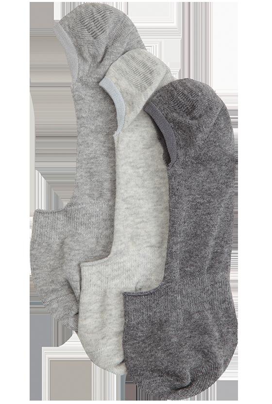 Fashion 4 Men - Ashton Invisible 3 Pack Socks