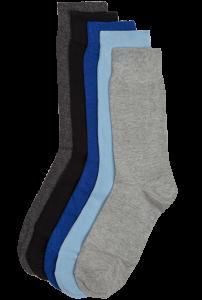 Fashion 4 Men - Fast 5 Pack Dress Socks