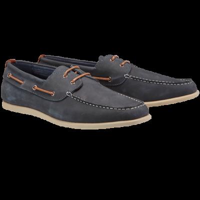 Fashion 4 Men - Navy Deck Casual Shoe