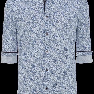 Fashion 4 Men - Paisley Print Slim Fit Shirt