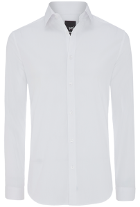 Fashion 4 Men - Plain Stretch Slim Fit Shirt