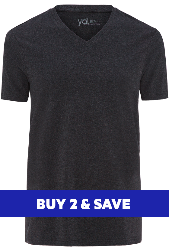 Fashion 4 Men - Vinton Tee - Charcoal