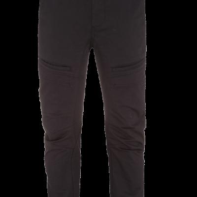 Fashion 4 Men - Zodiac Cuffed Chino - Black