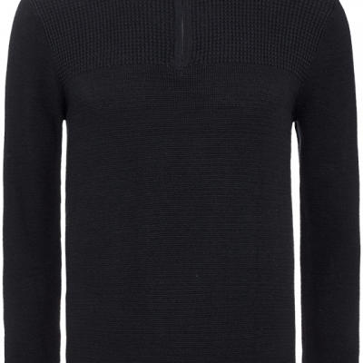 Fashion 4 Men - Alex 1/2 Zip Panel Knit