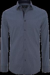 Fashion 4 Men - Bond Slim Print Shirt