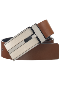 Fashion 4 Men - Bourbon Reversible Belt