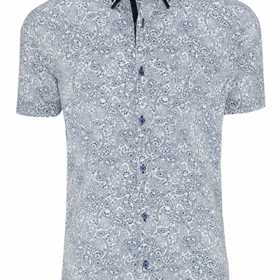 Fashion 4 Men - Brewery Paisley Print Shirt