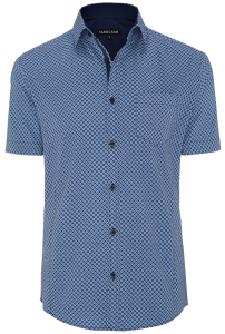 Fashion 4 Men - Humbert Stretch Print Shirt