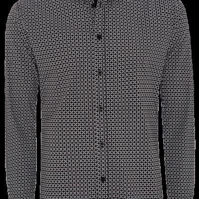 Fashion 4 Men - Kitson Slim Stretch Print Shirt