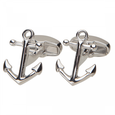 Fashion 4 Men - Anchor Cufflink