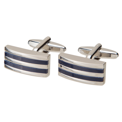 Fashion 4 Men - Blud Stripe Cufflink