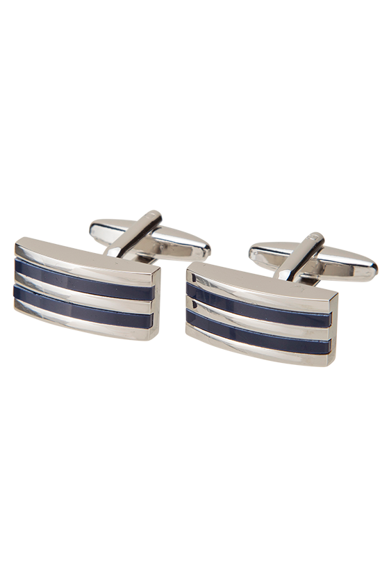 Fashion 4 Men - Blud Stripe Cufflink