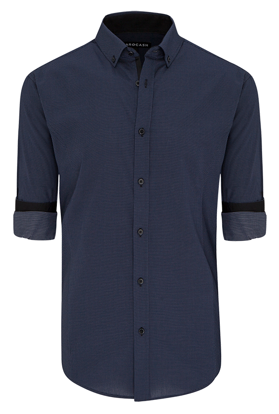 Fashion 4 Men - Alby Slim Textured Shirt