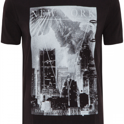 Fashion 4 Men - Dark Night Print Tee