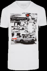 Fashion 4 Men - Taxi Print Tee