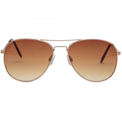 Fashion 4 Men - 1029-Sml Aviator Sunglasses Gold