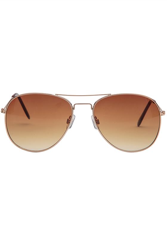 Fashion 4 Men - 1029-Sml Aviator Sunglasses Gold