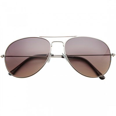 Fashion 4 Men - 1029-Sml Aviator Sunglasses Silver