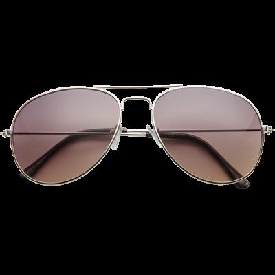 Fashion 4 Men - 1029-Sml Aviator Sunglasses Silver