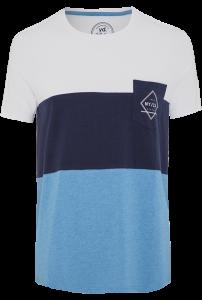 Fashion 4 Men - Abel Ss Tee - Blue