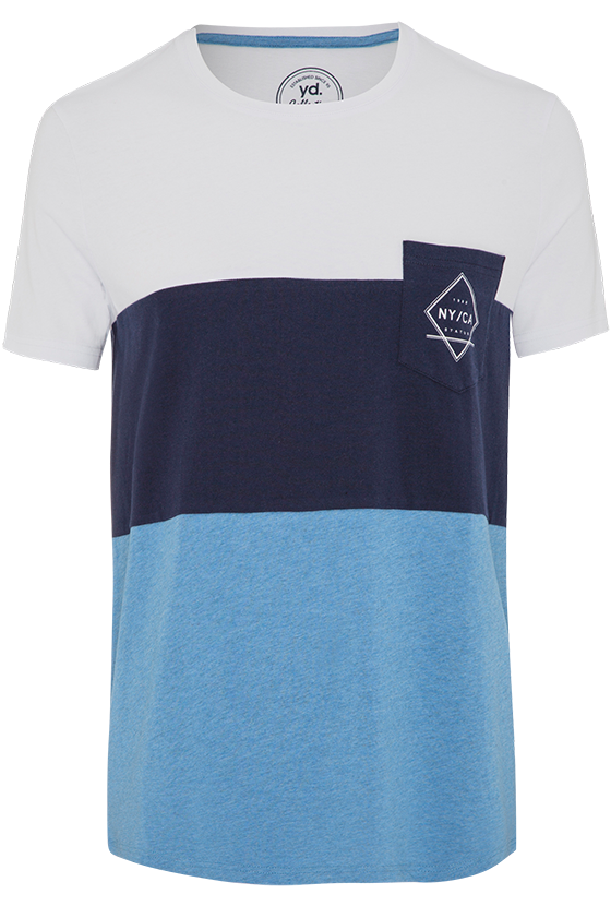 Fashion 4 Men - Abel Ss Tee - Blue