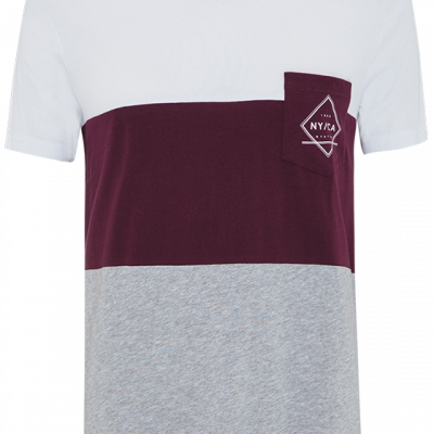 Fashion 4 Men - Abel Ss Tee - Burgundy