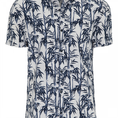 Fashion 4 Men - Bamboo Floral Ss Shirt