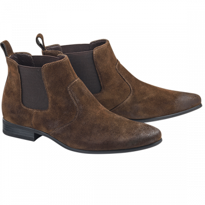 Fashion 4 Men - Archie Suede Gusset Boot