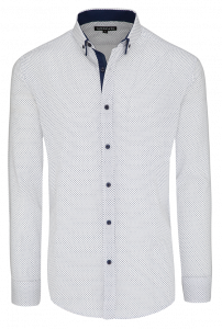 Fashion 4 Men - Baxter Slim Print Shirt