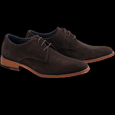 Fashion 4 Men - Boyd Suede Lace Up Shoe