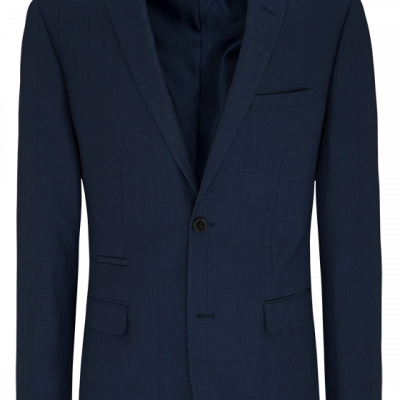 Fashion 4 Men - Tanner 2 Button Check Suit