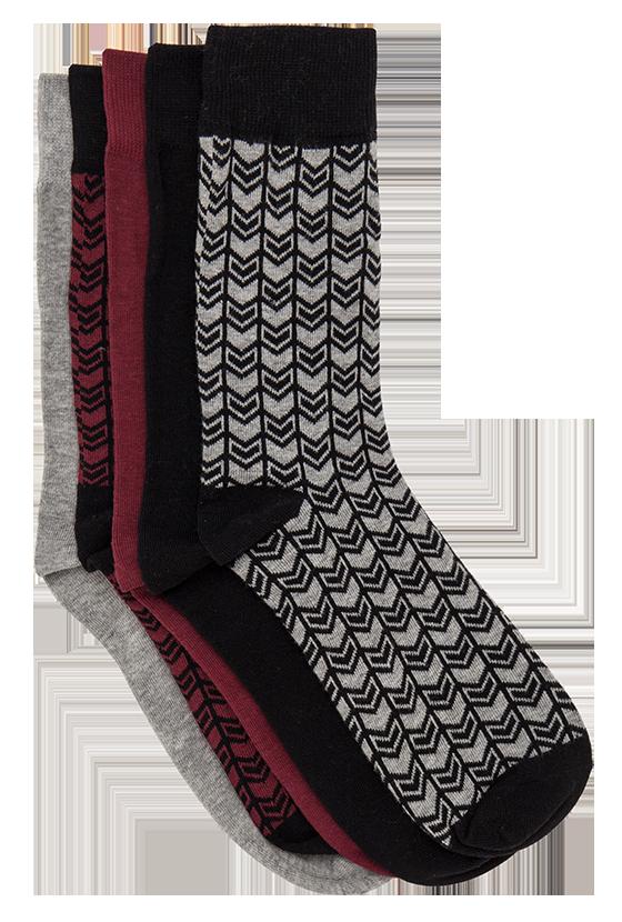 Fashion 4 Men - Bernard 5 Pack Sock