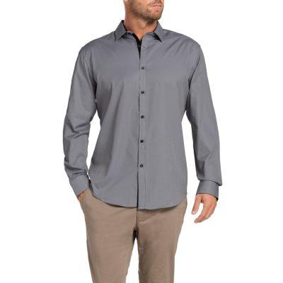 Fashion 4 Men - Tarocash Barbados Stripe Shirt Black Xxl
