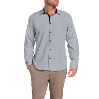 Fashion 4 Men - Tarocash Bishop Check Shirt Black S