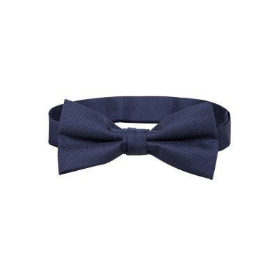 Fashion 4 Men - Tarocash Bow Tie Plain Blue 1