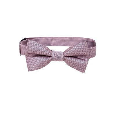 Fashion 4 Men - Tarocash Bow Tie Plain Lilac 1