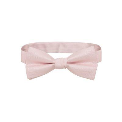 Fashion 4 Men - Tarocash Bow Tie Plain Pink 1