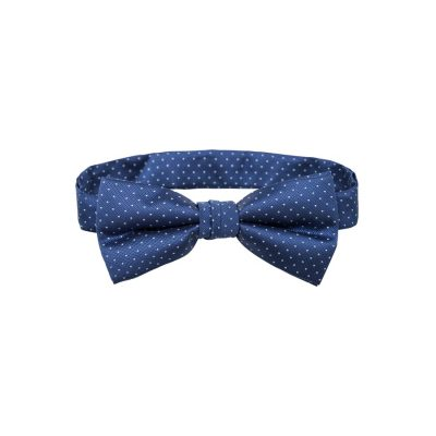 Fashion 4 Men - Tarocash Bow Tie Spot Blue 1