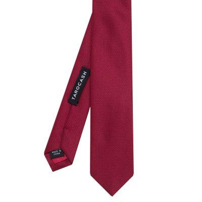 Fashion 4 Men - Tarocash Essential Tie Burgundy 1