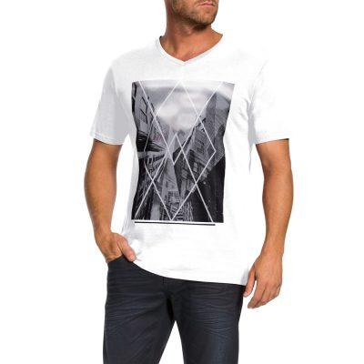 Fashion 4 Men - Tarocash Explorer Tee White S